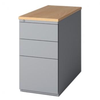 Caisson hauteur de bureau caisson avec tiroir pour bureau - Caisson de rangement bureau ...