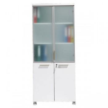 Armoires bois armoires de rangement rangement for Meuble porte verre