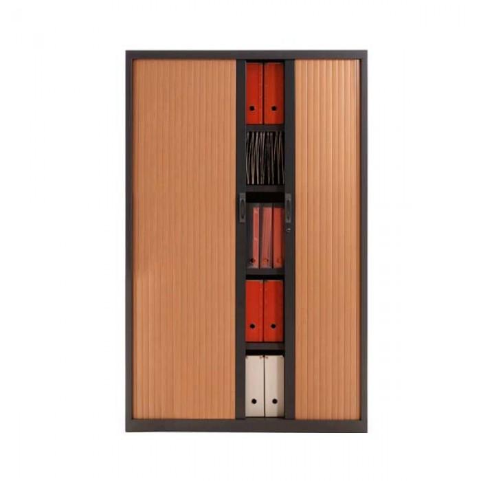 armoire de rangement rideau h180 cm armoire rideau. Black Bedroom Furniture Sets. Home Design Ideas