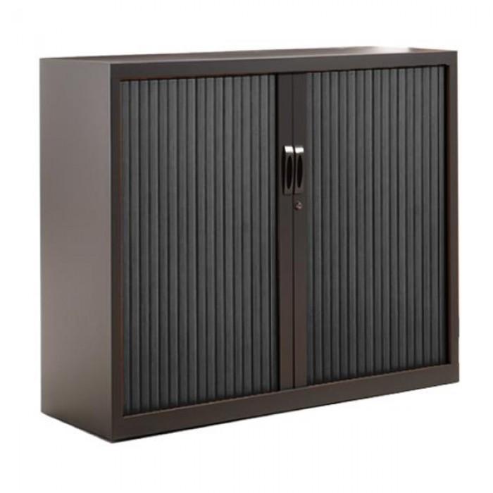 armoire basse rideaux h105 cm armoire rideaux. Black Bedroom Furniture Sets. Home Design Ideas