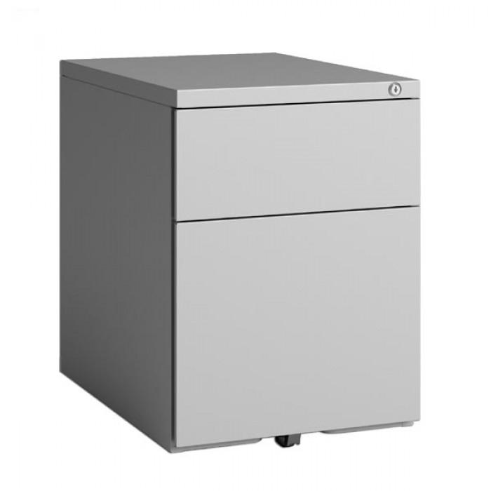 caisson mobile standard 2 tiroirs caissons de bureau rangement. Black Bedroom Furniture Sets. Home Design Ideas