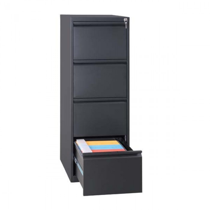 classeur simple 4 tiroirs l43 cm. Black Bedroom Furniture Sets. Home Design Ideas