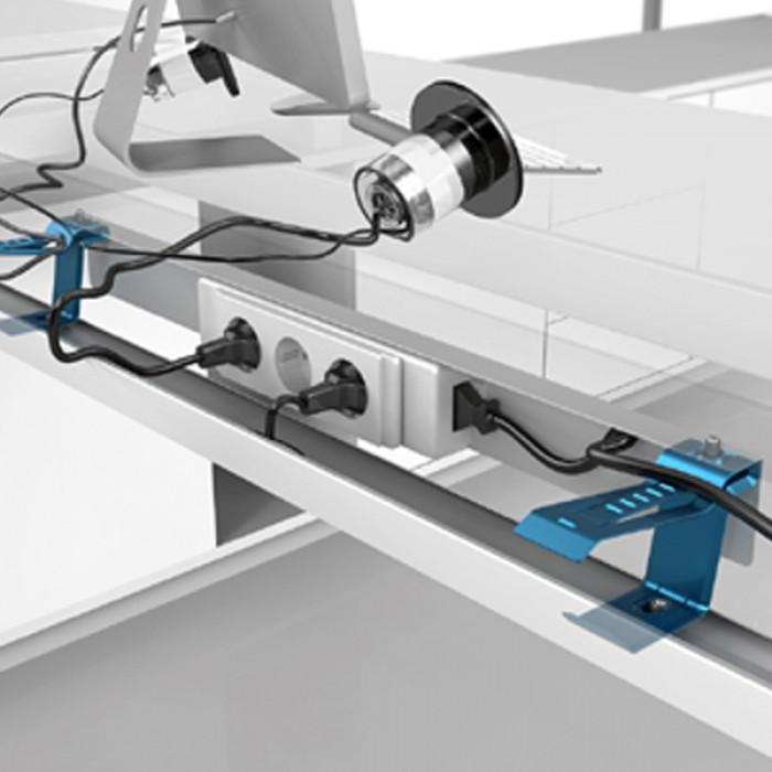 cache cable pour bureau maison design. Black Bedroom Furniture Sets. Home Design Ideas