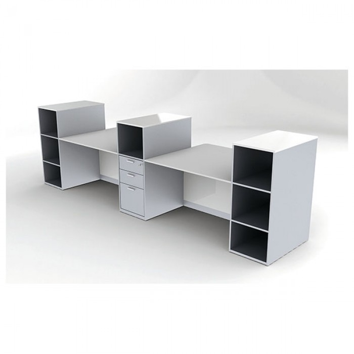 module de rangement avec tiroirs pour banque kristal. Black Bedroom Furniture Sets. Home Design Ideas
