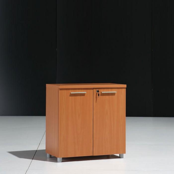 meuble bas 2 portes bois noyer 30 Nouveau Meuble Bas Rangement Bureau Sjd8