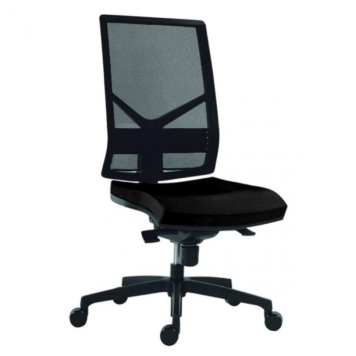 Si ge de bureau argon r sille mobilier for Fauteuil de bureau sans accoudoir