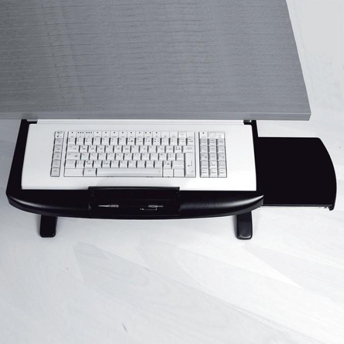 tirette clavier kouliss support accessoires de bureau bureaux. Black Bedroom Furniture Sets. Home Design Ideas
