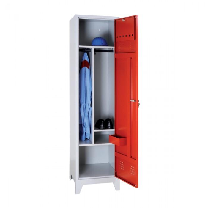 vestiaire de pompier 1 porte vestiaire de pompier l50 x. Black Bedroom Furniture Sets. Home Design Ideas